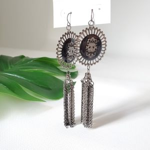 Chinese Laundry Long Chain Dangling Trendy Earring
